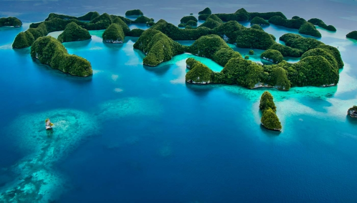 diving destination palau
